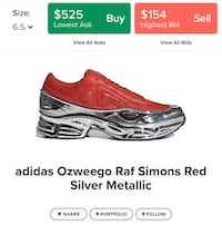 Raff simions size 8