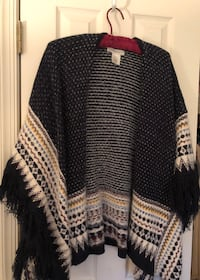 OS Stylish Poncho from Francesca's