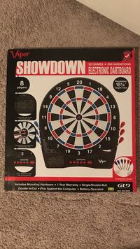 Black and red electronic dart board Cedar Park, 78613