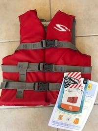 red and black life vest Purcellville, 20132