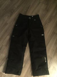Black West 49 snow pants youth lg women's small