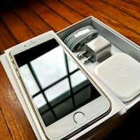 silver iPhone 6 with box Toronto, M2L 2T9