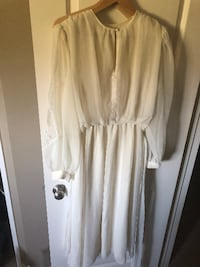 Vintage 1970s Nu Mode Toronto wedding dress FORTSASKATCHEWAN