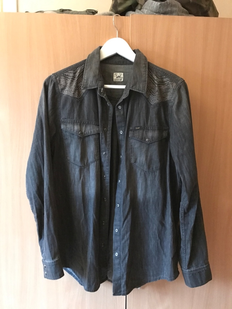 Lee denim skjorte s/m