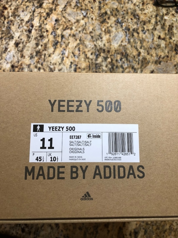 """d5cfc2269 Used Yeezy Boost 500 """"Salt"""" for sale in New Hyde Park - letgo"""