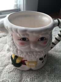 Ceramic Santa Clause Collector Mug