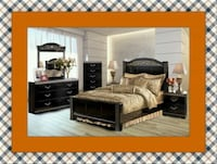 11pc Ashley bedroom set free delivery Temple Hills