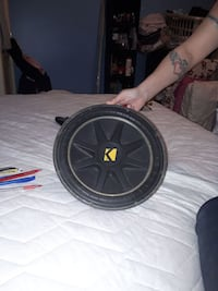 "12""  Kicker Competition Subwoofer Regina, S4S 0Z7"