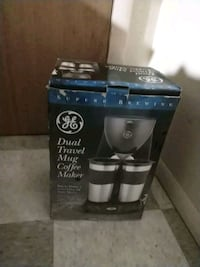 GE Dual Travel Mug Coffee Maker Edgewood, 21040