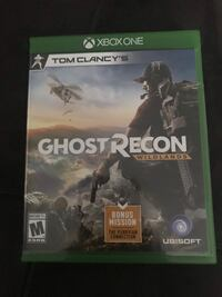 Xbox One Ghost Recon game case Macomb, 48044