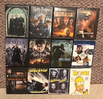 DVDs/BluRay discs for sale