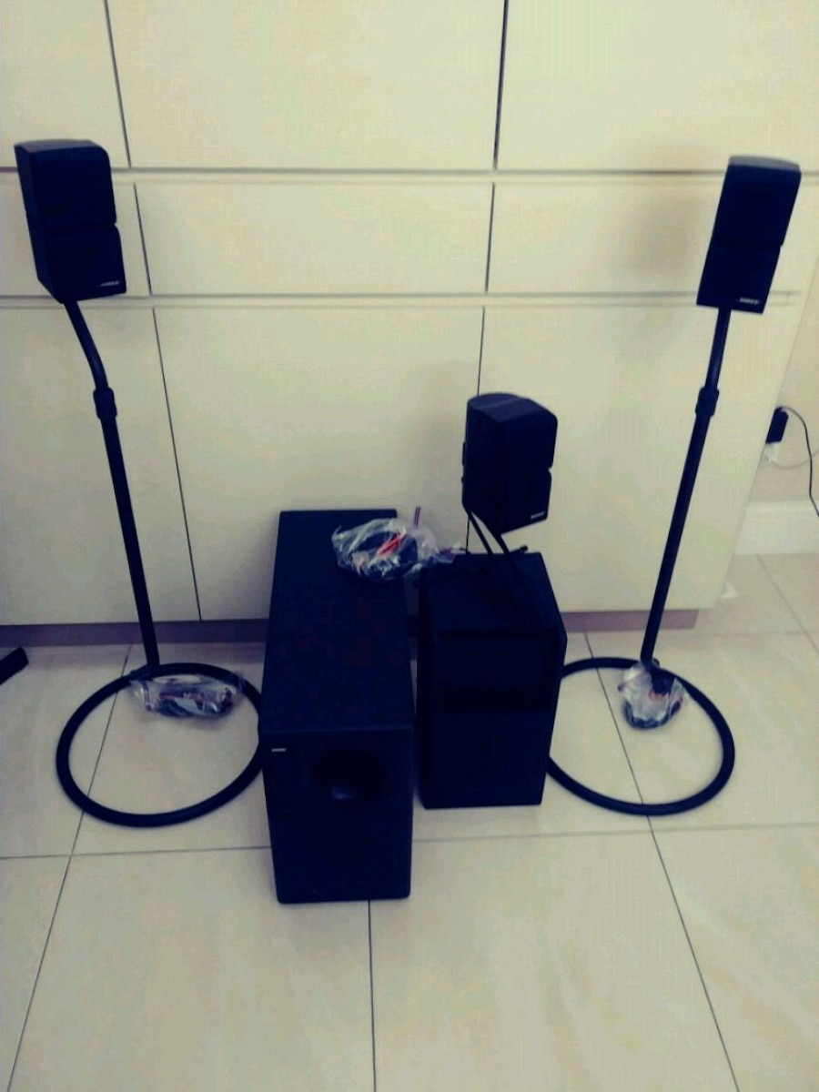 Photo BOSE Speakers Systems to re-create natural sou