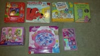 Kids Books, Puzzles, Game & Unopened Bracelet Kit Sussex, 53089
