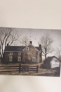 "Canvas Artwork  "" Chester County Fieldstone "" by BILLY JACOBS  Catasauqua, 18032"