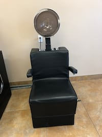 Dryer with chair