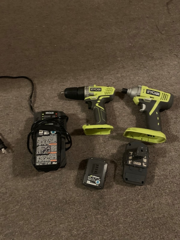 618357ba4d0a6d Used Two black and green cordless power tools for sale in Newark ...