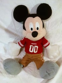 Football Mickey Mouse Plush Denver, 80231