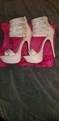 Blush colored stilettos  size 8 Nashville, 37211