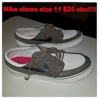 Nike shoes size 11. $25 obo!!  Northport