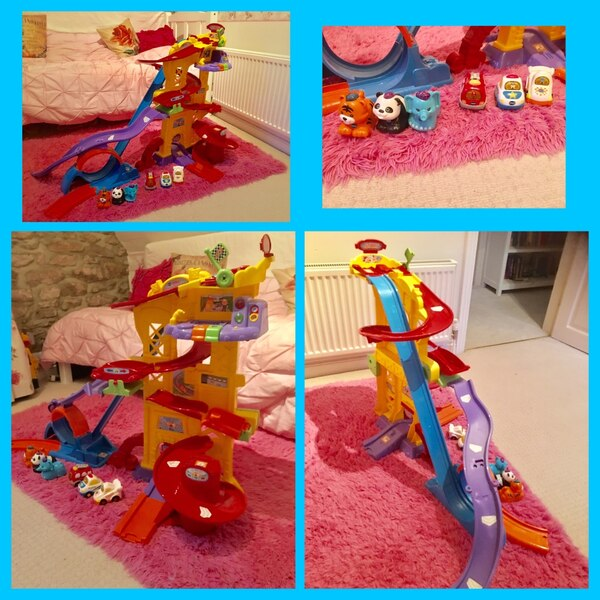 Car tower with 6 vehicles