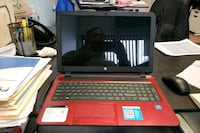 black and red HP laptop Alexandria, 22312
