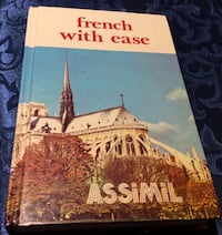FRENCH LANGUAGE CONVERSATION LEARNING BOOK AND AUDIO CASSETTES