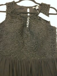 NEW Black Lace Dress Burlington