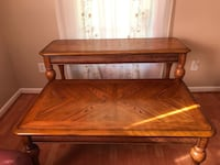 Coffee table and sofa table &150 together or $75 a piece Birmingham, 35214