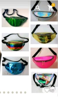 Holographic Fanny Packs Mobile, 36618