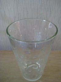 clear glass cup with lid null