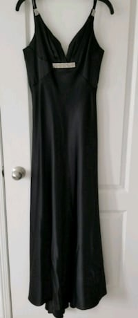 Ladies Long Black Dress xs