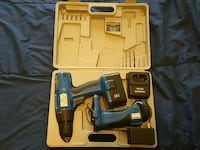 black and blue cordless power drill Fort Collins, 80524