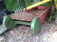 Very Large Old Wood/Metal Sleigh/Aprox 6' Severn, L0K