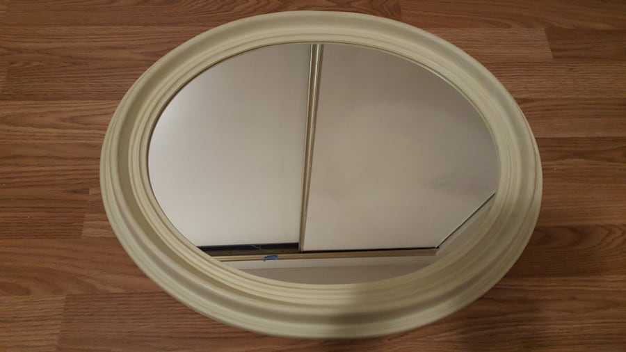 "Oval mirror 24""x 19.5"" 2ea8afee-522b-4449-be51-3140a31f71e4"