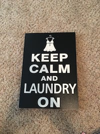 Keep calm and laundry on 1357 mi
