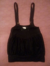 Lipstick brand mini skirt with overall straps Portsmouth, 23707