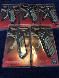 Dale Earnhardt folding pocket knife. New! $15 each Virginia Beach, 23453