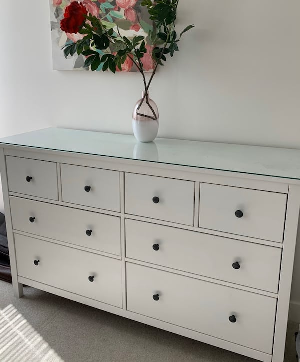 Sold Ikea Hemnes 8 Drawer Dresser