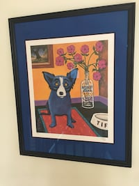 George Rodrigue Blue Dog Limited Edition Silkscreens Painesville, 44077
