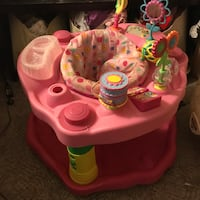 baby's pink and white activity center Medicine Hat, T1B 1C5