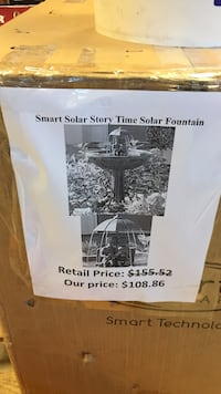 smart solar story fountain San Leandro, 94579