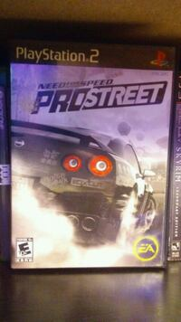 Need for Speed Pro Street PlayStation 2 West Union, 45693