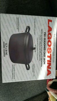 Lagostina cast iron dutch oven NEW Mississauga, L5J 1J8