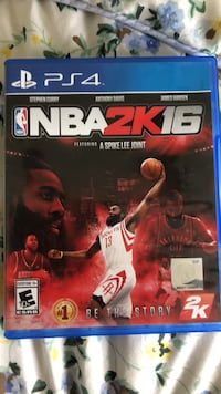 NBA 2K16 PS4 game case Davenport, 33896