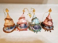 Thomas Kinkade ornaments x4  Winnipeg, R3L 0T3