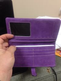Purple bifold wallet Simcoe, N3Y 3V5