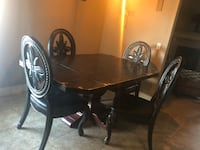 Custom Built dining room table & chairs Oklahoma City, 73013