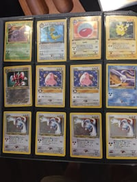 assorted Pokemon trading card collection Edmonton, T6W 2J8