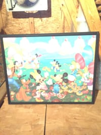 Mickey Mouse Picture made from a 21 year old puzzles Louisville, 40245