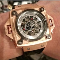 Hublot styled rose gold fully automatic watch Toronto, M1H 3G2
